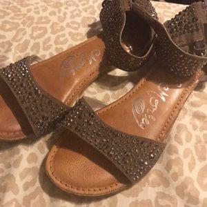 Cute studded sandals
